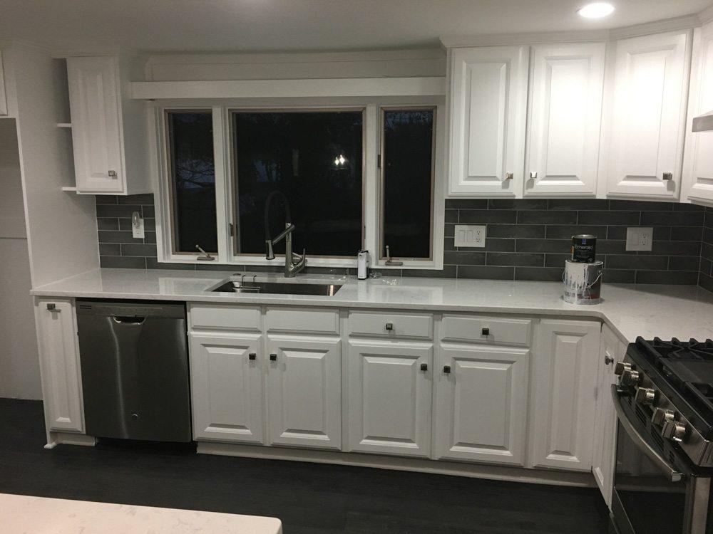 Kitchen Cabinet Refacing Idea Painting Boston
