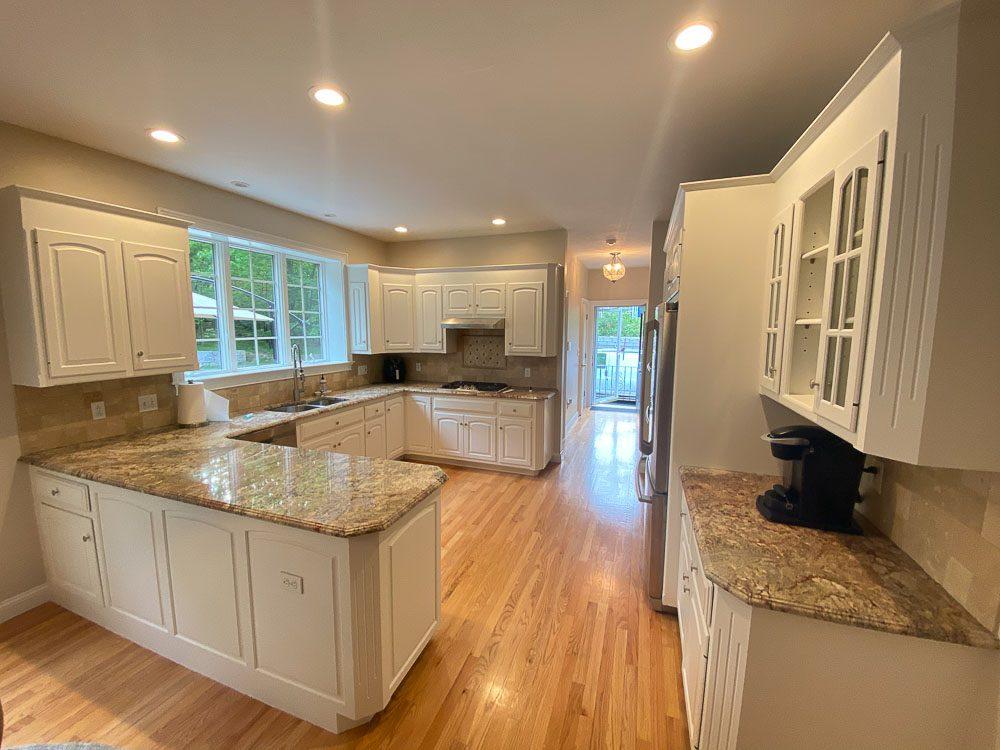 Kitchen Cabinet Refinishing - Franklin MA - Idea Painting ...